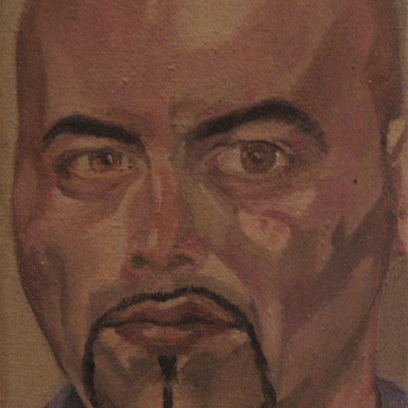 Selbstportrait, Eitempera auf Leinwand, 2006